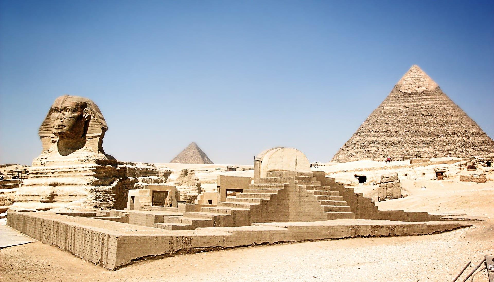 Geschiedenis van Egypte - Piramides
