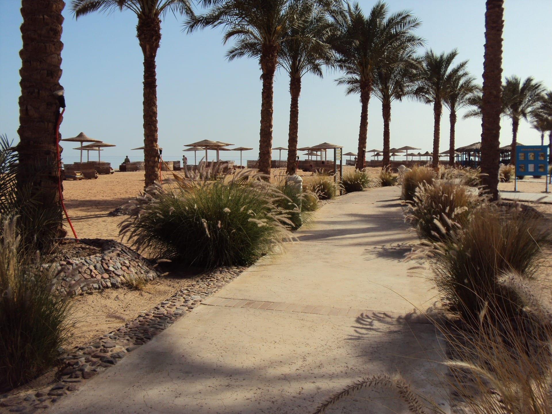 Strand Taba Egypte
